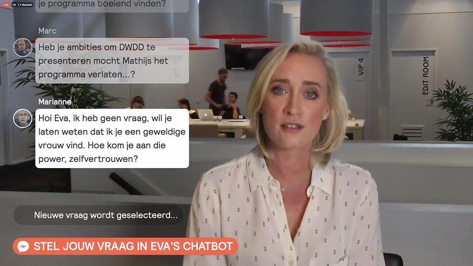Eva Jinek wil DWDD niet presenteren