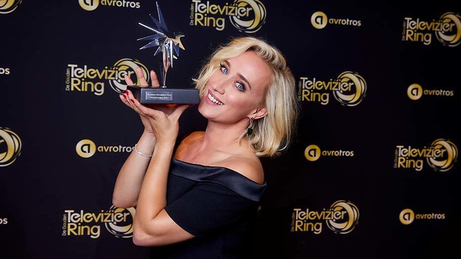 Eva Jinek wint Zilveren Televizier-Ster Presentatrice 2017