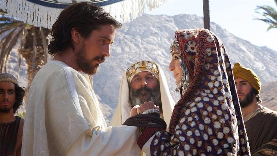 Christian Bale is Mozes