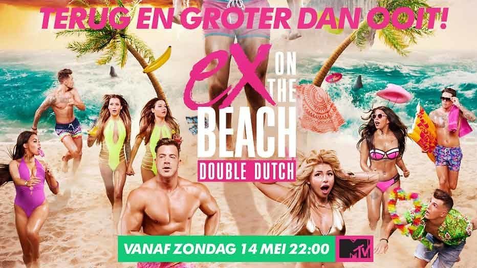Sexy vrouwen en hete heren in Ex on the Beach: Double Dutch