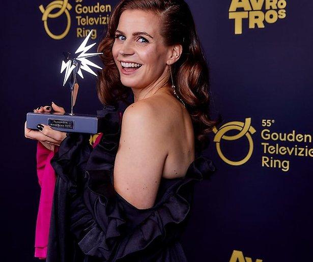 Elise Schaap wint de Televizier-Ster Acteur/Actrice 2020