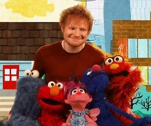 YouTube-hit: Ed Sheeran zingt met Elmo en Grover in Sesamstraat