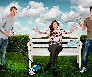 Tom, Evelyn en Thomas van Eigen Huis & Tuin geven tips