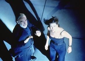 Catherine Zeta-Jones en de laserstralen