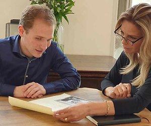 Schrijfster Esther Verhoef deed mee aan Verborgen Verleden