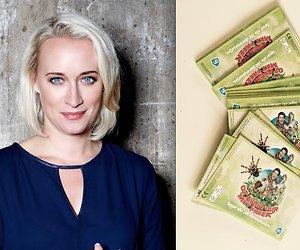 Eva Jinek bij de kassa: Freek Vonk-dierenplaatjes? Nee, dank je!