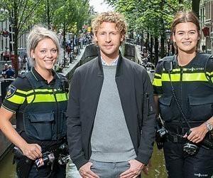 Ewout Genemans vier maanden met politie op pad