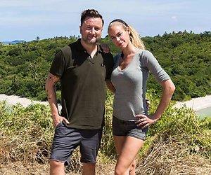 Vader en dochter Richard en Joëlle Witschge in Expeditie Robinson