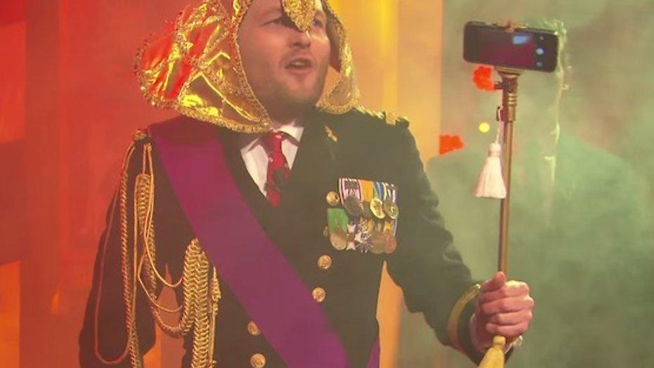 Arjen Lubach in actie tegen koningshuis: 'Ik word farao'