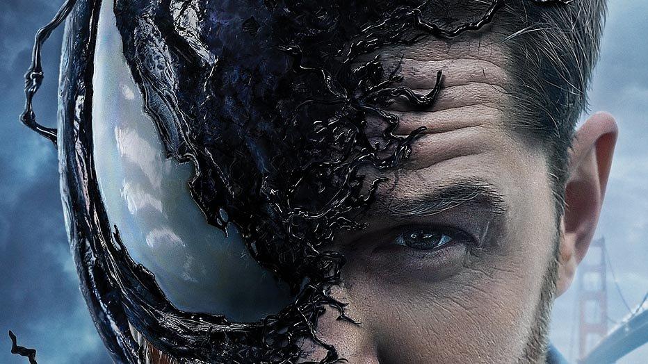 Tom Hardy jaagt je de stuipen op het lijf als anti-held Venom