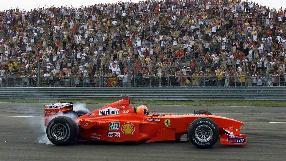 Michael Schumacher op Zandvoort