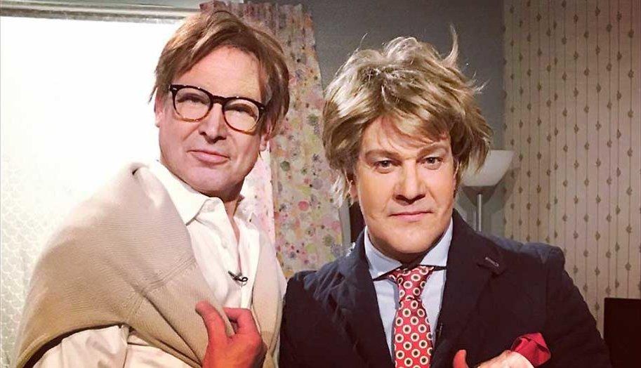 Frank en Rogier in De TV Kantine