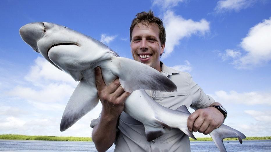 Freek Vonk vertelt in DWDD over haaienbeet