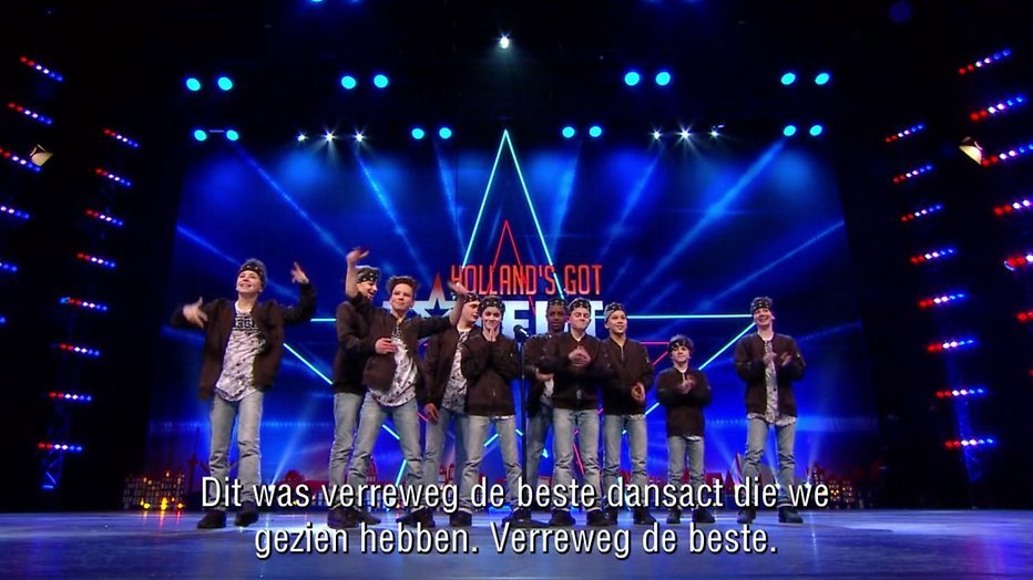 Videosnack: Fresh Allstars doen auditie bij Holland's Got Talent