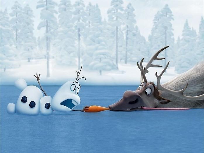 Ontdooit de sneeuwkoningin?