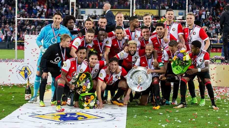 De TV van gisteren: 999.000 kijkers zien Feyenoord Johan Cruijff Schaal winnen