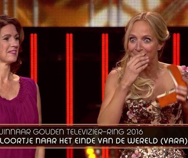 Video! Eerste reacties winnaars Gouden Televizier-Ring 2016