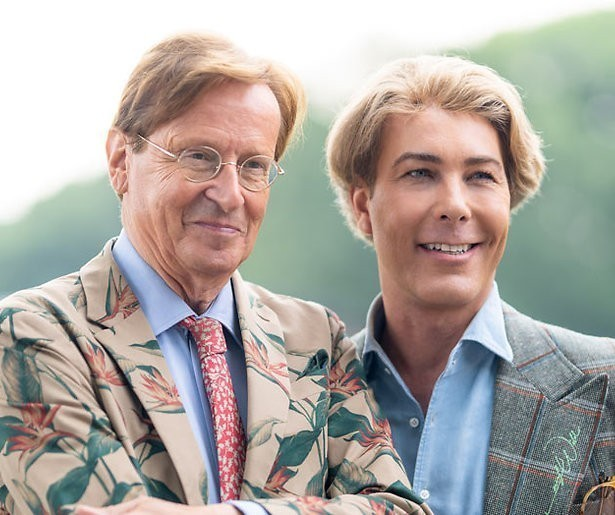 Relatie stylistenduo Frank en Rogier in zwaar weer