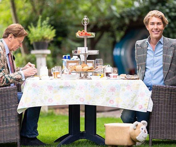 Op deze datum start het eerste programma van Frank & Rogier bij RTL4