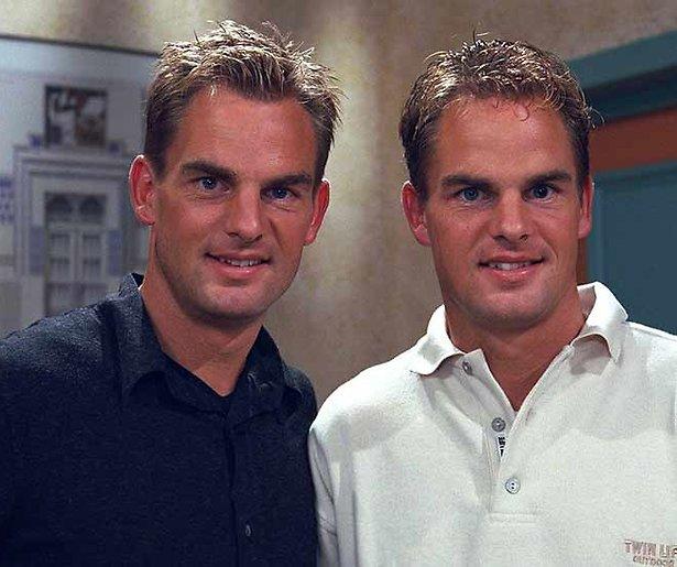 Frank en Ronald de Boer worden vanavond 50 bij Beau