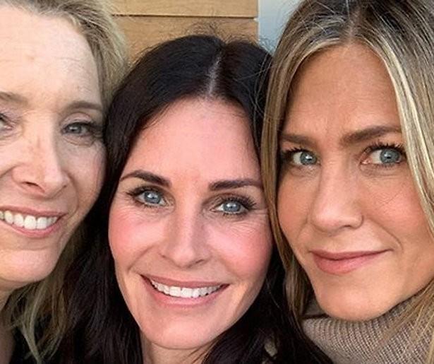 Friends-vrouwen herenigd