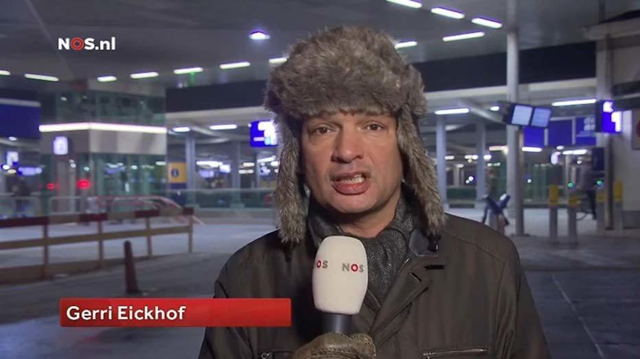 Wat is een snowmageddon zonder Gerri Eickhof?