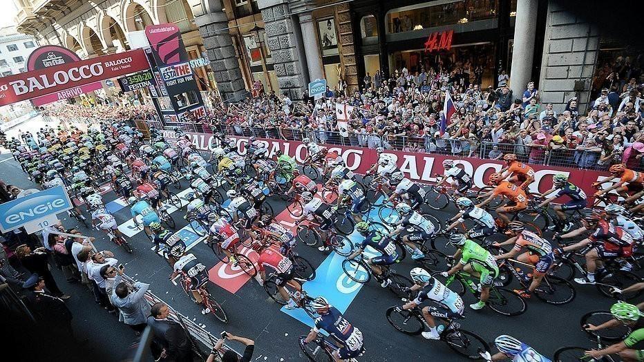 NOS reageert op klachten over Giro: live etappes uitzenden niet mogelijk
