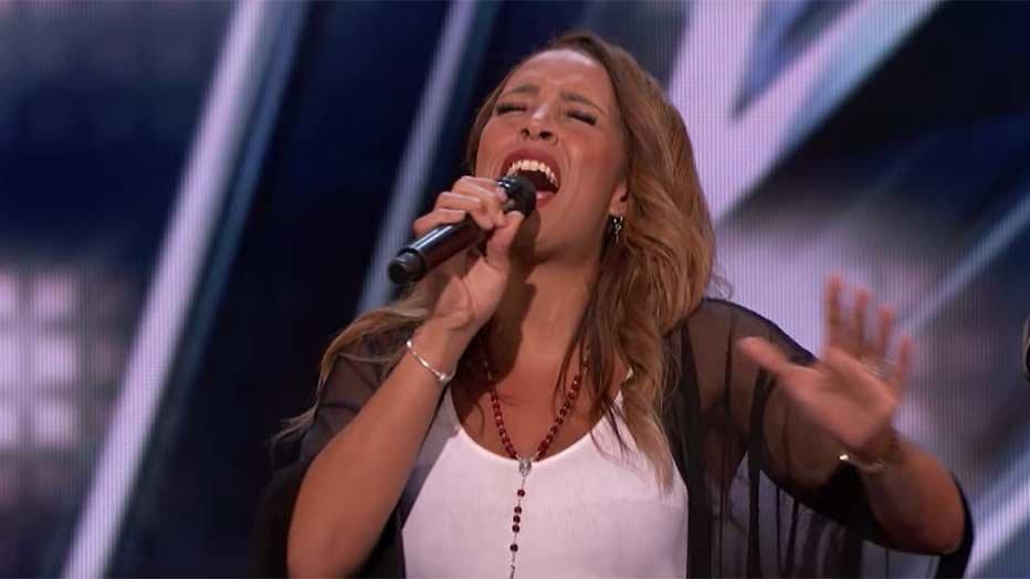 Glennis Grace doet mee aan America's Got Talent
