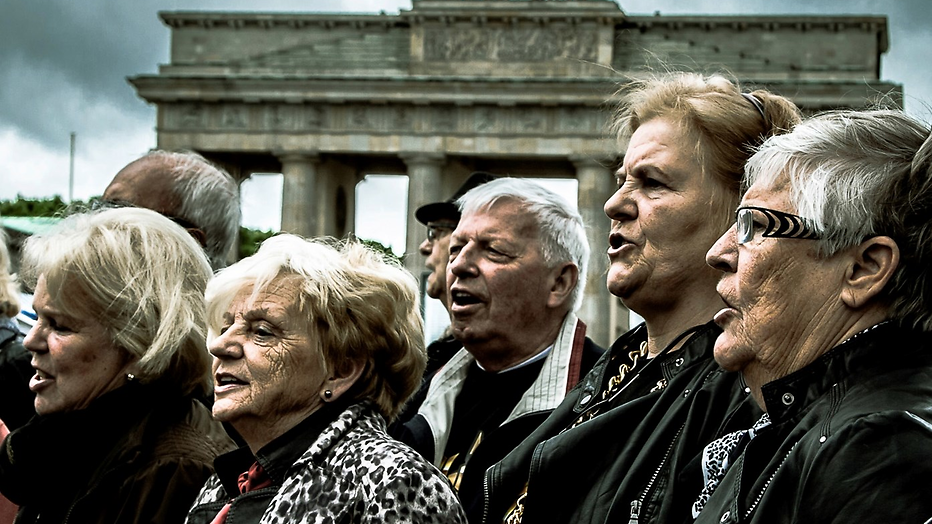 Golden Oldies in Berlijn