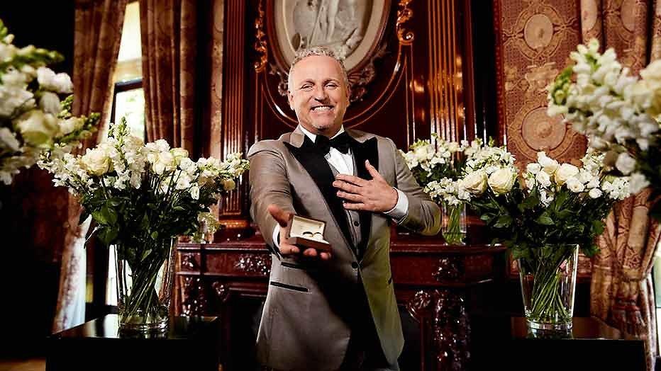 Gordon zoende met 7 mannen  tijdens opnamen huwelijksshow