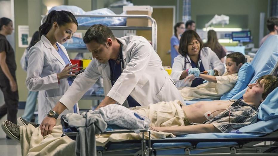 Ingewikkeld en ongemakkelijk in Grey's Anatomy