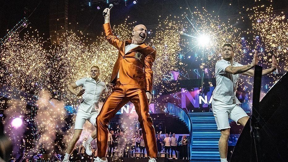 Ziggo Dome vol Songfestivalwinnaars