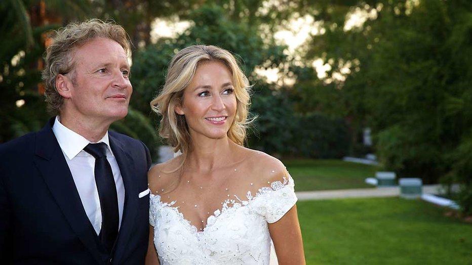 Huwelijk Wendy van Dijk en Erland Galjaard: de eerste beelden