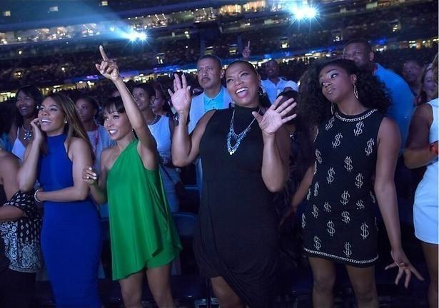 Feesten met Queen Latifah