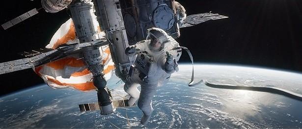 Zweef door de ruimte met Sandra Bullock