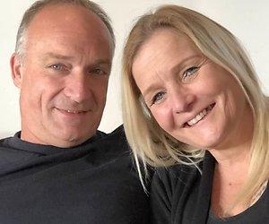 Boer Geert en Angela hebben gezoend