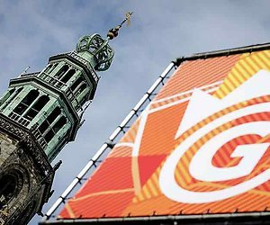 Feest in Groningen op Koningsdag
