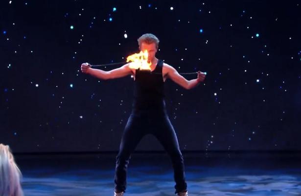 Videosnack: kandidaat in vuur en vlam