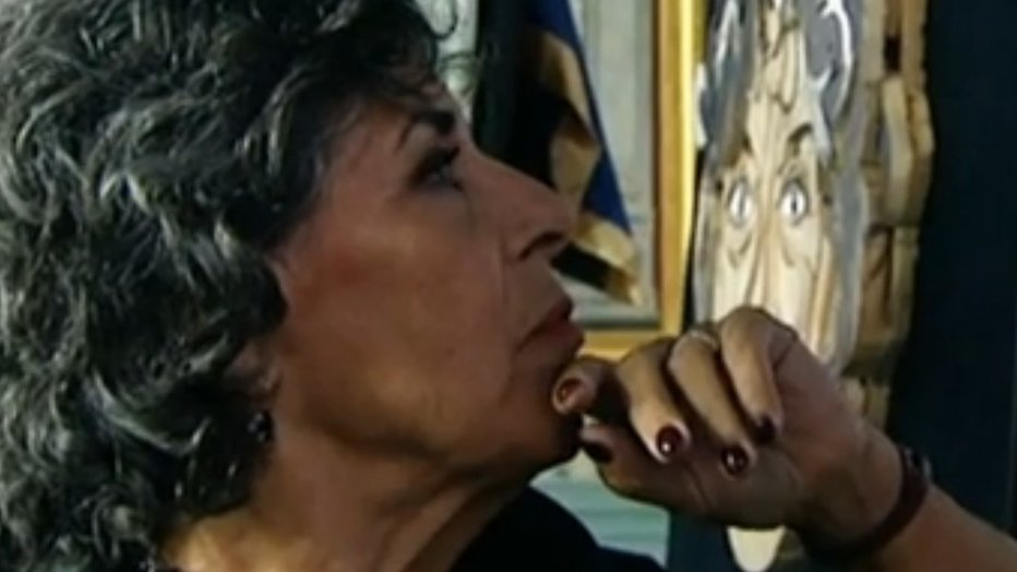 Hanneke Groenteman in tranen door bijzonder Sterren op het Doek portret