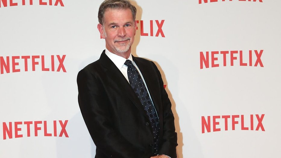 College Tour strikt Netflix-baas Reed Hastings