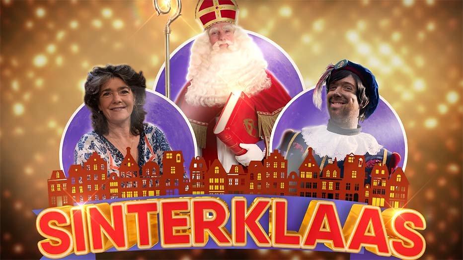 Dieuwertje Blok strikt Rafael van der Vaart en Victor Mids voor Sinterklaasshow