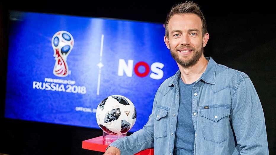 Henry Schut is klaar voor het WK Voetbal