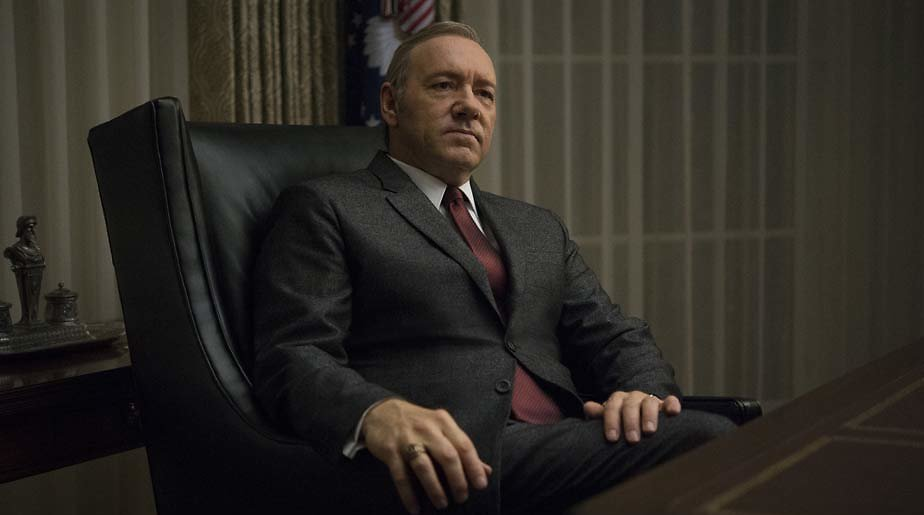 House of Cards-makers stellen meldpunt misbruik Kevin Spacey in