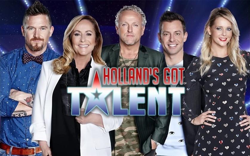 De audities gaan door in Holland's Got Talent