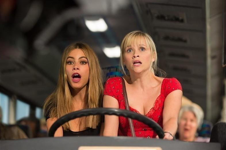 Op de vlucht met Reese Witherspoon en Sofía Vergara