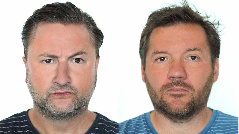 Dennis Weening en Klaas van Eerden
