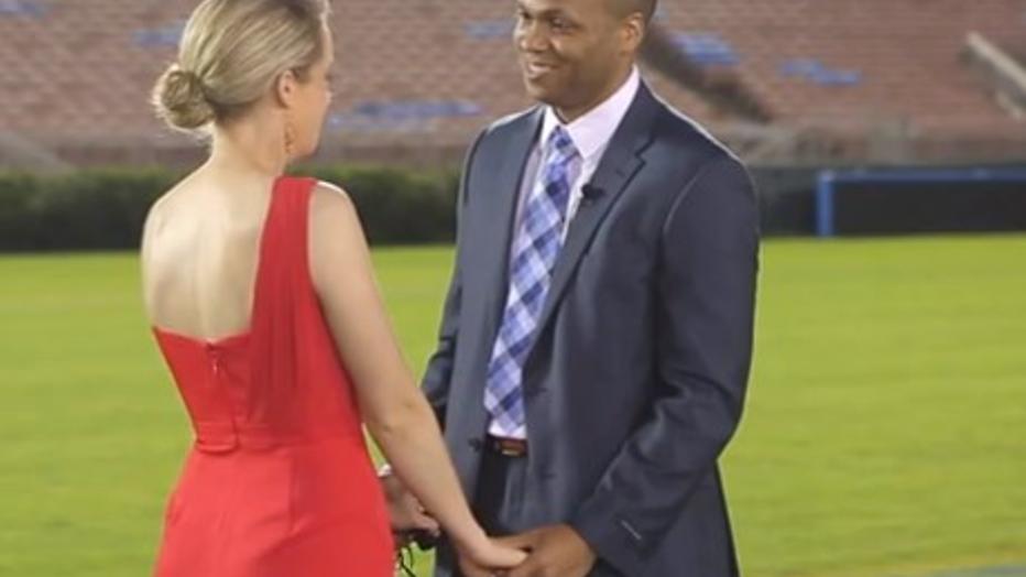 YouTube-hit: het perfecte huwelijksaanzoek