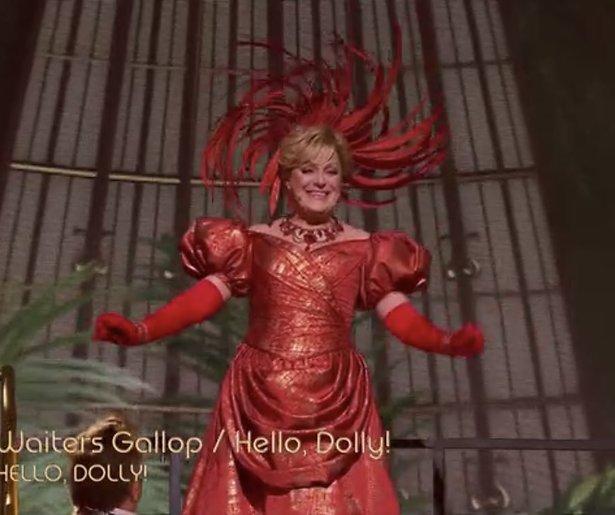 Videosnack: Simone Kleinsma in Hello Dolly
