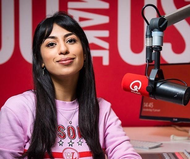 Qmusic-dj Hila Noorzai aan de slag bij EenVandaag