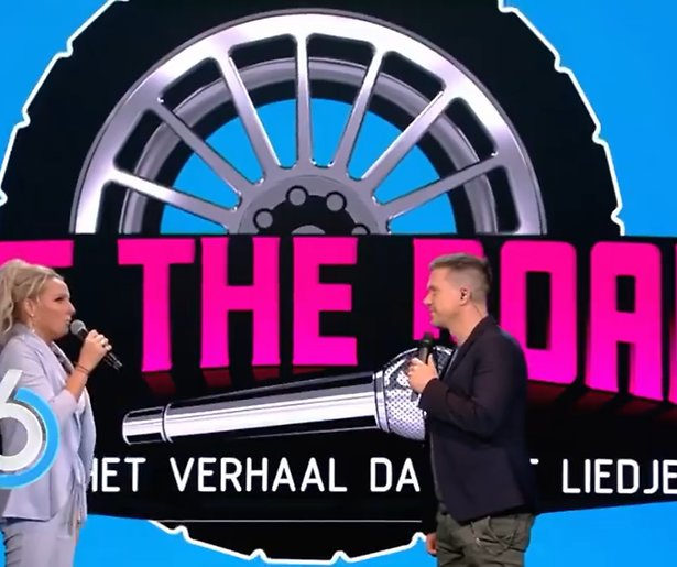 Johnny de Mol presenteert finale Hit The Road